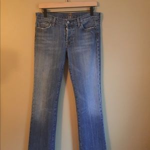 7 For All Mankind Women's Boy Cut Jeans Size 29